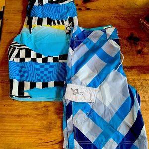 Men's Board Shorts. 2 pack. Size 30